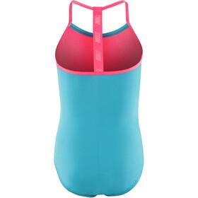 Nike Swim Solids T-Back One Piece Girls lt blue fury